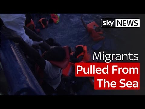 Report: Desperate Attempts To Save Migrants From The Sea