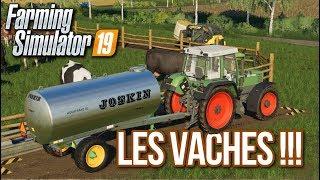 MES PREMIÈRES VACHES SUR FS19 !!! 🐄 (Felsbrun) - Farming simulator 19