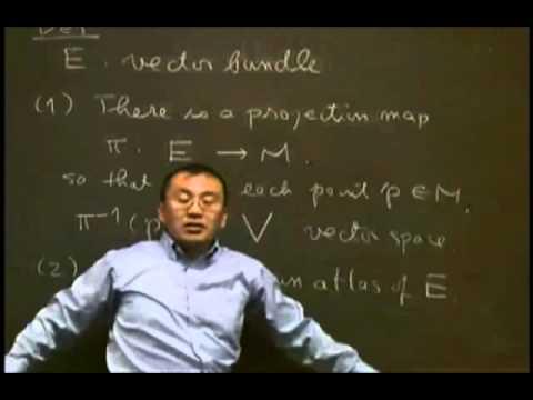 5   Vector Bundles, Gauge theory