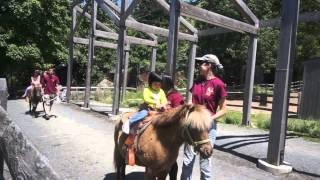 Pony Ride 3 @ Turtle Back Zoo 5/27/13