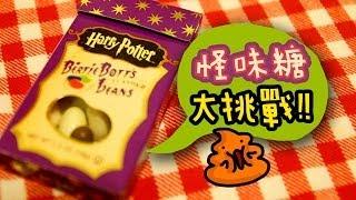 挑戰   哈利波特怪味糖   harry potter bertie bott s beans challenge