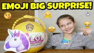 LOL Emoji Big Surprise! Custom LOL Big Surprise DIY!