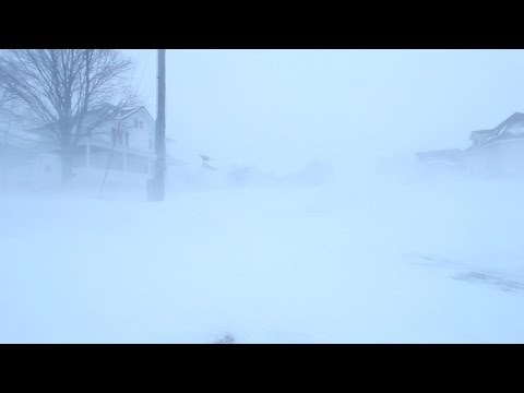 Incredible Blizzard Conditions