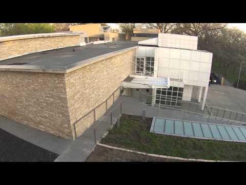 Des Moines Art Center drone shoot