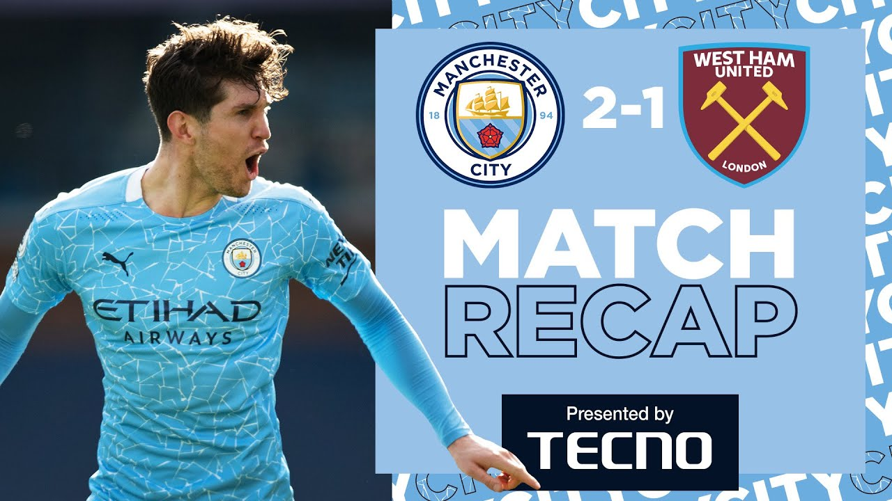 20 WINS ON THE SPIN | MATCH RECAP | CITY 2-1 WEST HAM