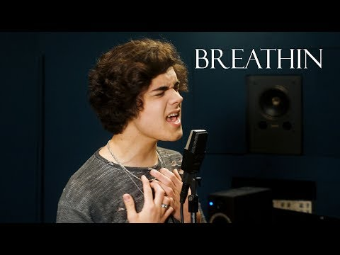Ariana Grande - breathin (Cover by Alexander Stewart)