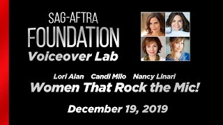 Voiceover Lab: Women That Rock The Mic!