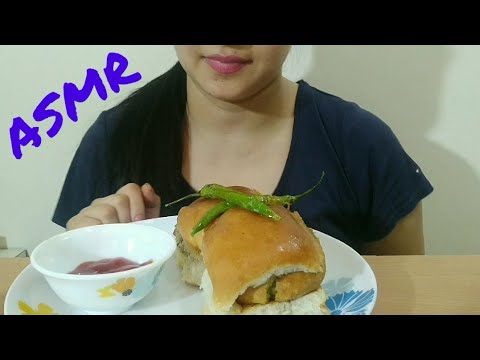 VADA PAV ASMR | INDIAN (MUMBAI) STREET FOOD EATING SOUND | DETECTIVE BITES