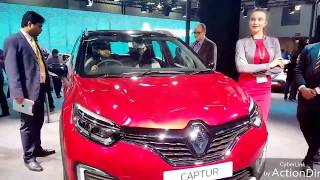 NEW RENAULT CAPTURE 2018 || NEW LAUNCH AT AUTO EXPO || REVIEW AND SPECS WITH FEATURES.