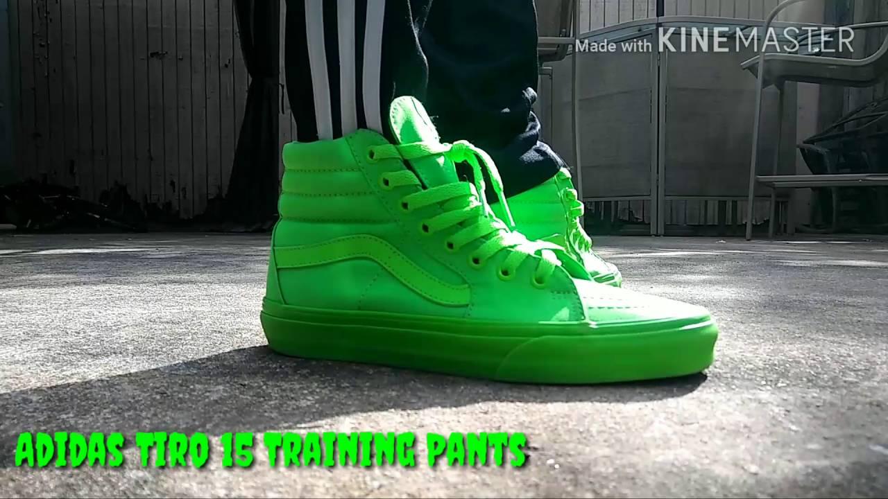 vans sk8 hi neon green > Come and stroll!