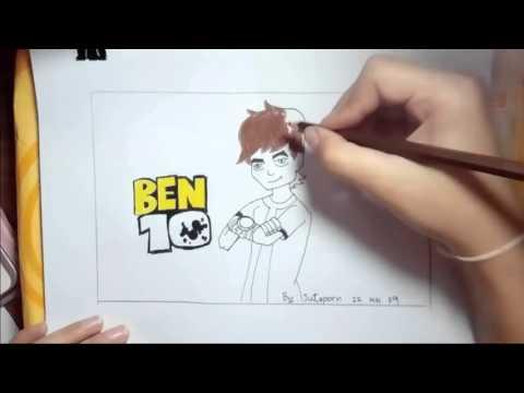 เบ็นเท็น วาดภาพระบายสี
