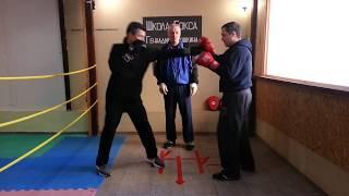 Школа бокса Геннадия Аношкина. Урок 20: удар свинг.