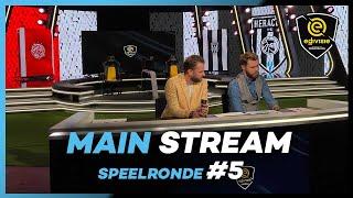 MAIN STREAM | SPEELRONDE 5 | eDivisie 2019-2020 FIFA20