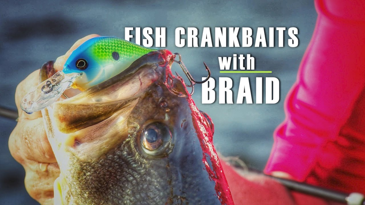 Why to Consider Braided Fishing Line for Cranking