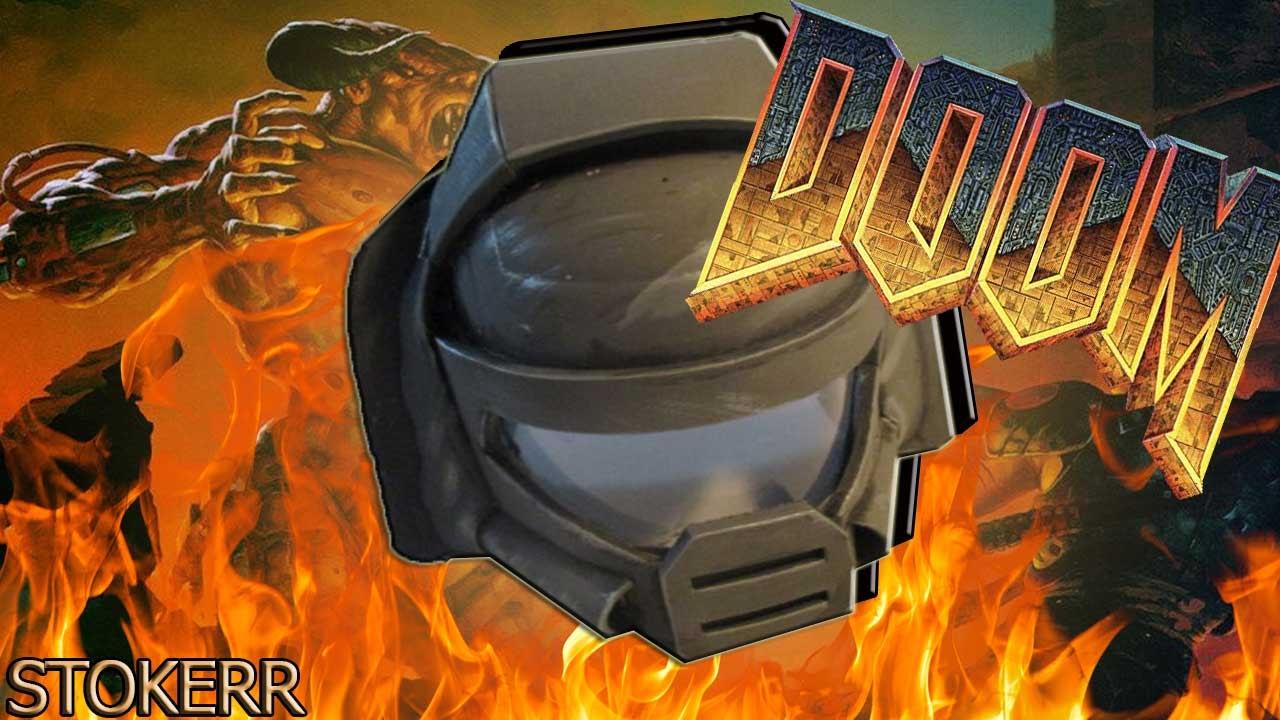 How To Make A Doom Guy Helmet Youtube