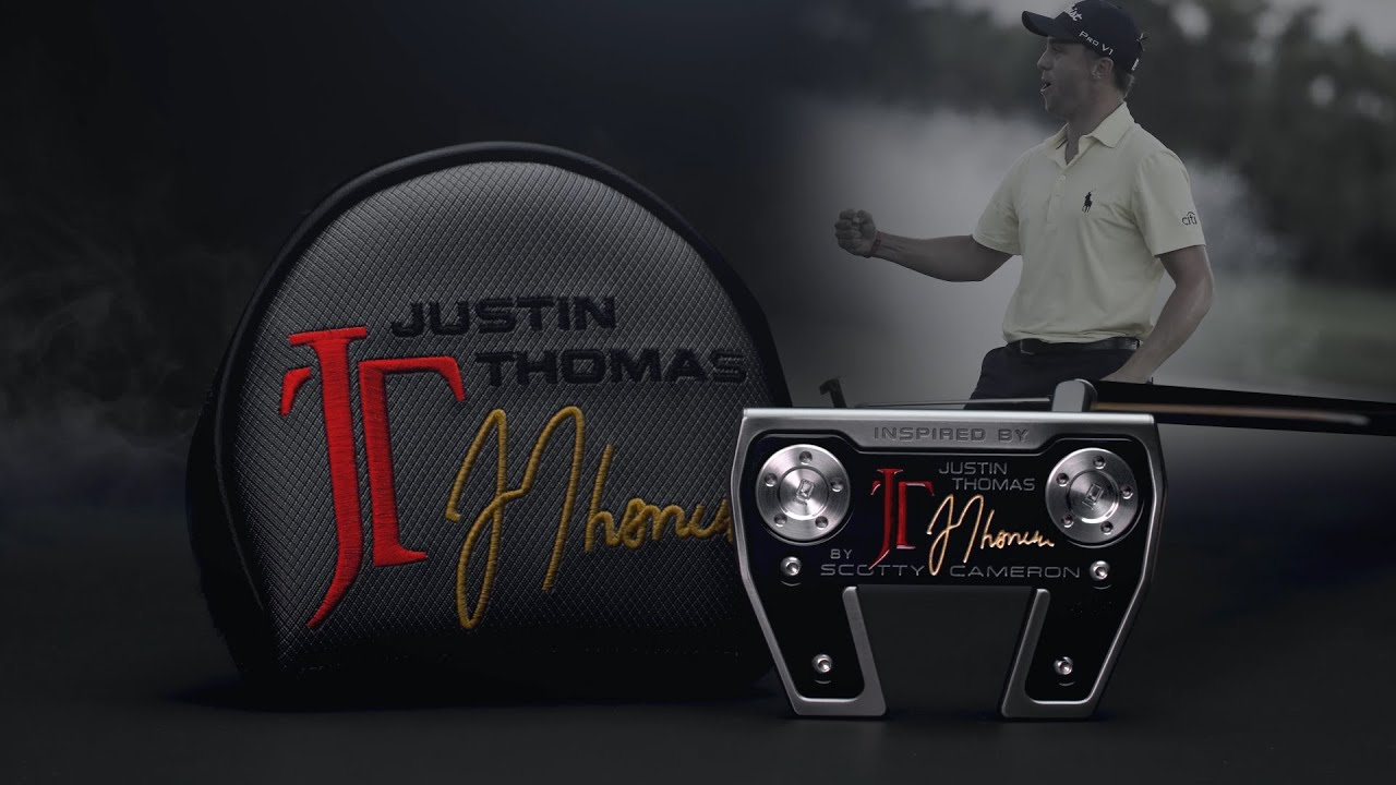 Justin Thomas Inspired by Phantom X 5.5 I Scotty Cameron Putters