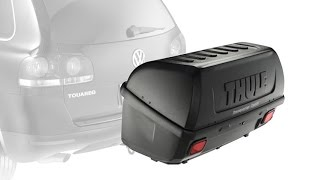 Thule 665c Transporter Combi Hitch Mount Cargo Boxv Ideal Storage Solution For Vehicles