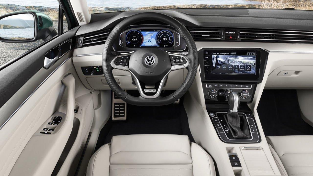 new volkswagen passat 2019  interior  youtube