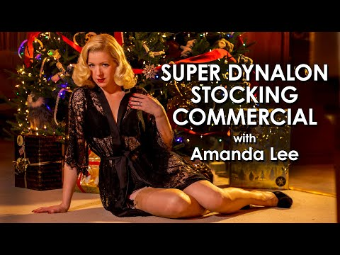 Super Dynalon Stockings Commercial with Amanda Lee