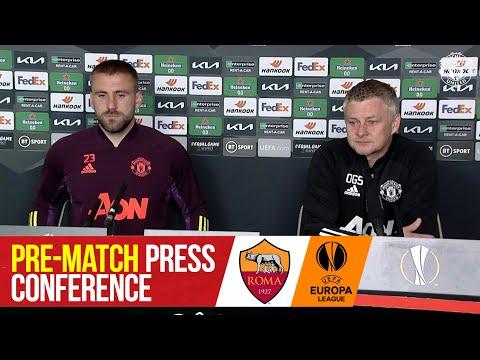 Pre-Match Press Conference | Manchester United v AS Roma | Luke Shaw & Ole Gunnar Solskjaer | UEL