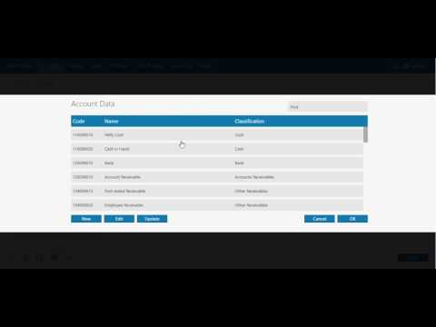 How To Fill in Control Account Currency Data on Zahir Online |  THE BEST CLOUD ACCOUNTING SOFTWARE