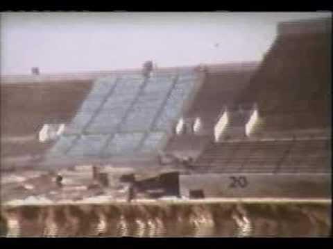 Texas Tech's Jones Stadium Enlargement 1960