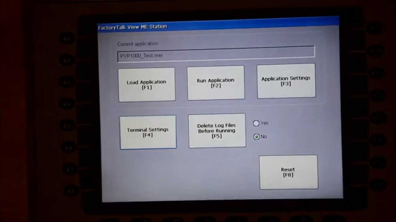 Change the PLC IP Path with a Panelview Plus 1000 HMI