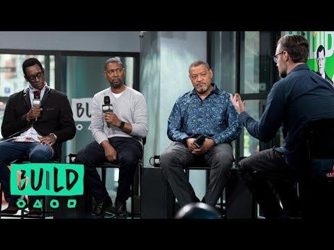 "Laurence Fishburne, Kevin Hooks And Orlando Jones Discuss Their Miniseries, ""Madiba"""