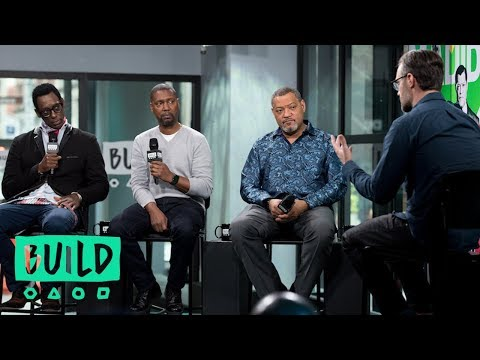 "Laurence Fishburne, Kevin Hooks And Orlando Jones Discuss Their Miniseries, ""Madiba"""