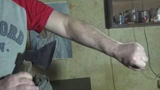 мужская депиляция топором