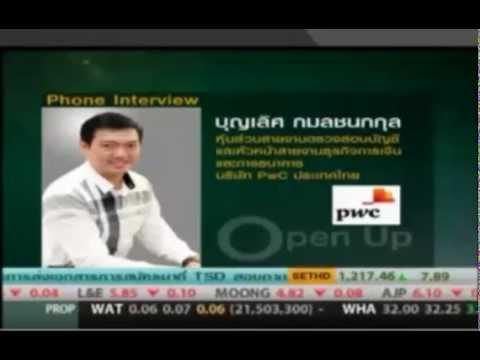 PwC Thailand's Assurance Partner talks about Banking banana skins 2014