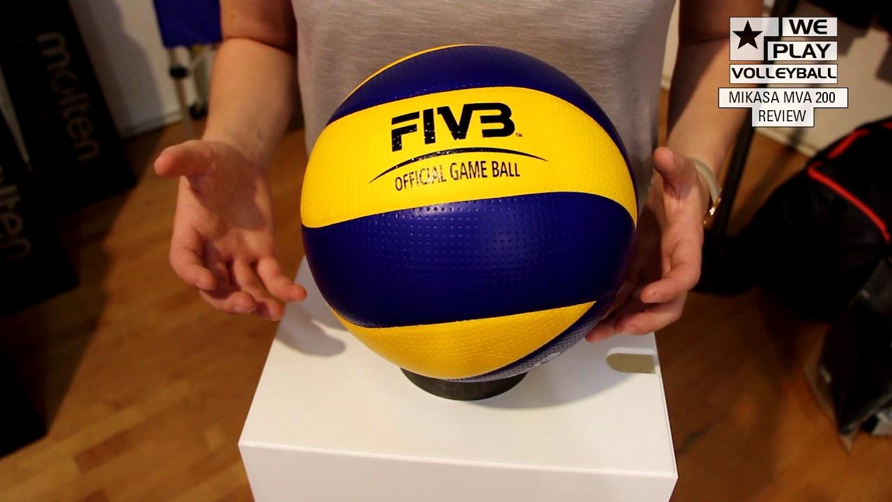 Mikasa Volleyball Mva 200 Ball Review Youtube