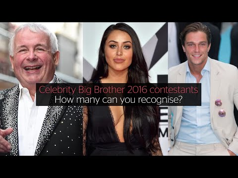 Celebrity Big Brother 2016: How many of the contestants can you recognise?