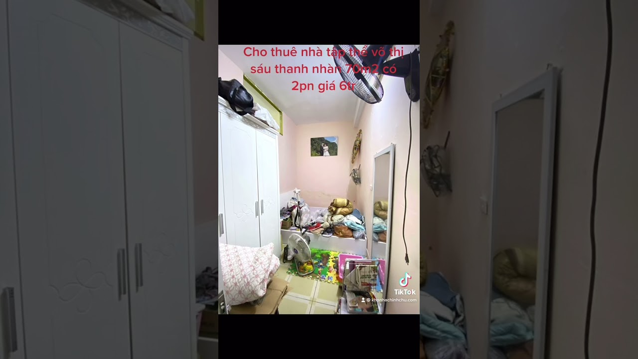 image Cho thuê căn hộ tập thể võ thị sáu thanh nhàn 70m2 có 2pn giá 6tr