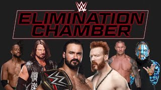 WWE Elimination Chamber Match Card Prediction 2021