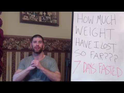 "Crazy Weight Loss After 7 Days of Fasting! (""STARVING"" for TRUTH 