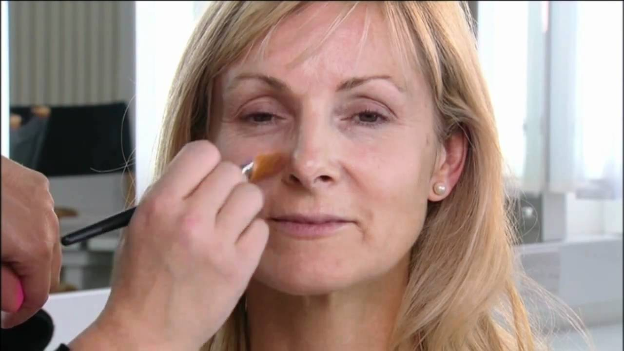 How To Apply A Natural Foundation In Your 50's , Makeup Tutorial