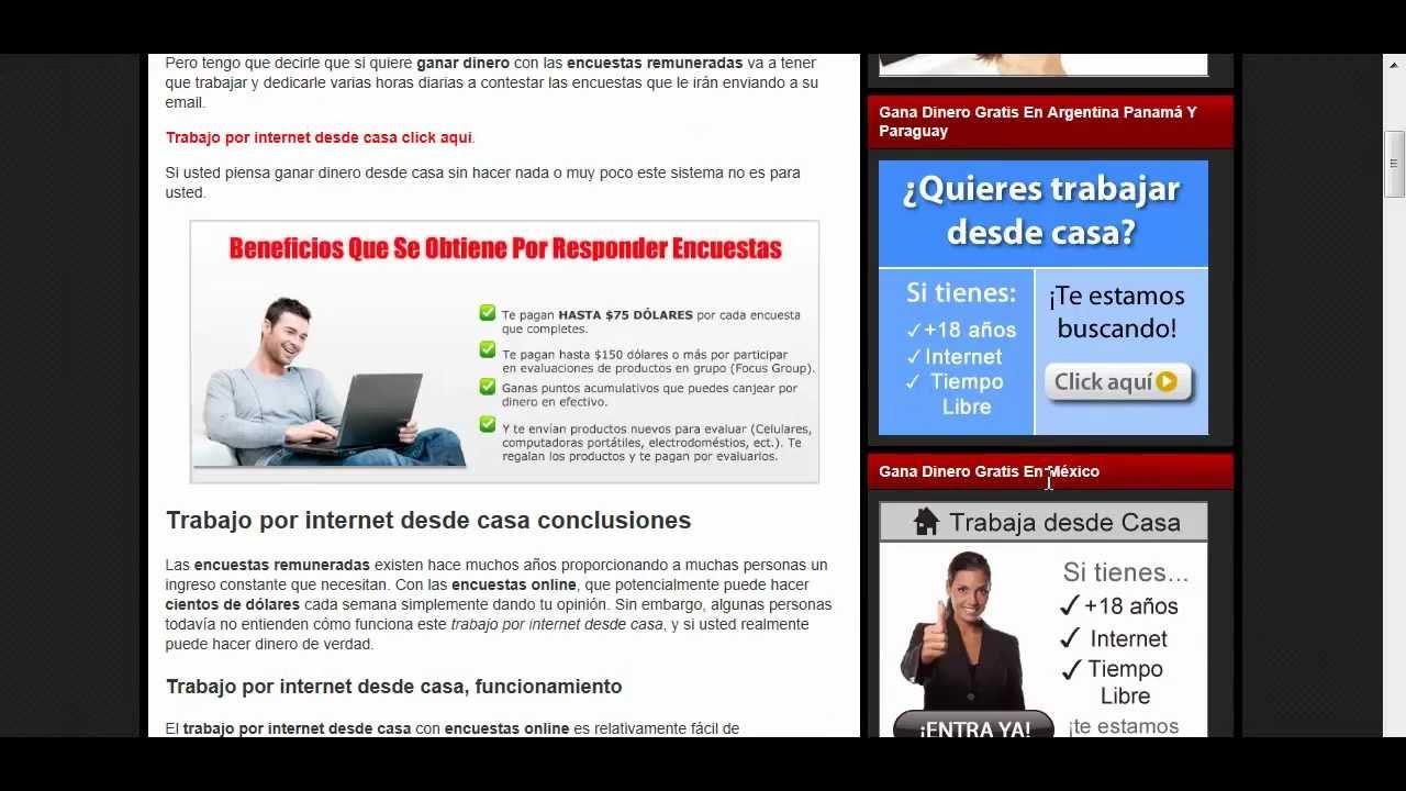 Como Ganar Dinero Por Internet Gratis En Panama Opción Binaria De Señales Libres