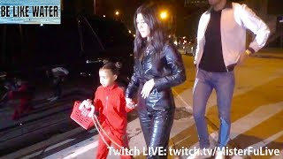 Kourtney Kardashian, North West, Kris Jenner & Larsa Pippen