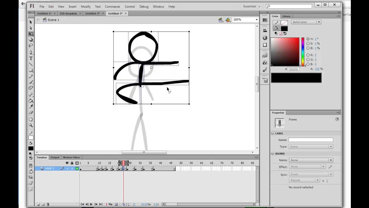 alan becker stick figure animation 3 object drawing youtube