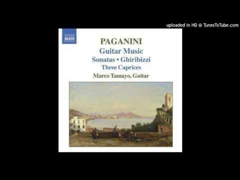 Paganini music - Allegro risoluto (from Grand Sonata in A major)
