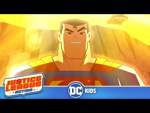 Justice League Action | Superman Saves The Day! | DC Kids