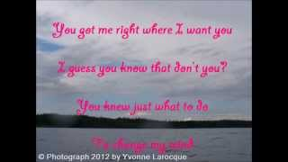 Right Where I Want You (Lyric) Video - Wade Hayes