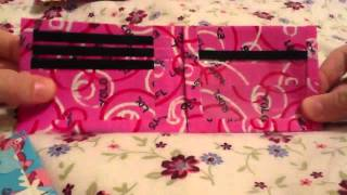 4 NEW DUCT TAPE WALLETS; Pigs, Peace, Pink Text And Hearts