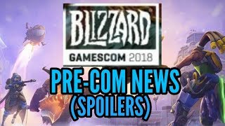 Heroes of the Storm News - Gamescom 2018 Blizzard Announcements - HotS Spoilers