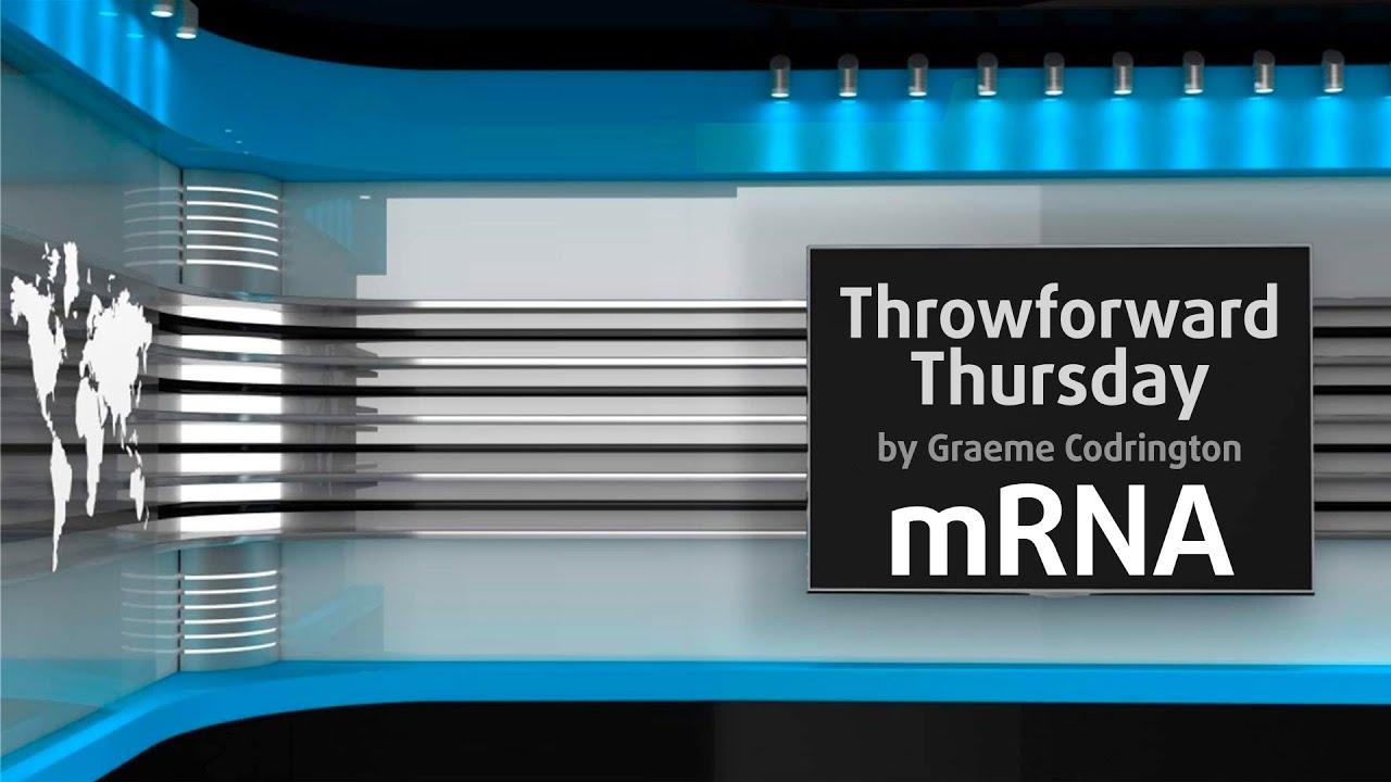 Throwforward Thursdays 1: mRNA cures cancer by 2028