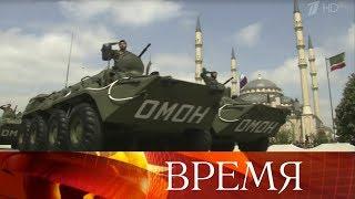 Парады в честь Дня Победы состоялись в 29 российских городах.