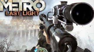 Metro Last Light Redux: Sniper Mission Gameplay
