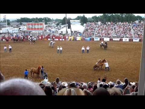 Sheridan Wyoming Rodeo Indian Relay Races