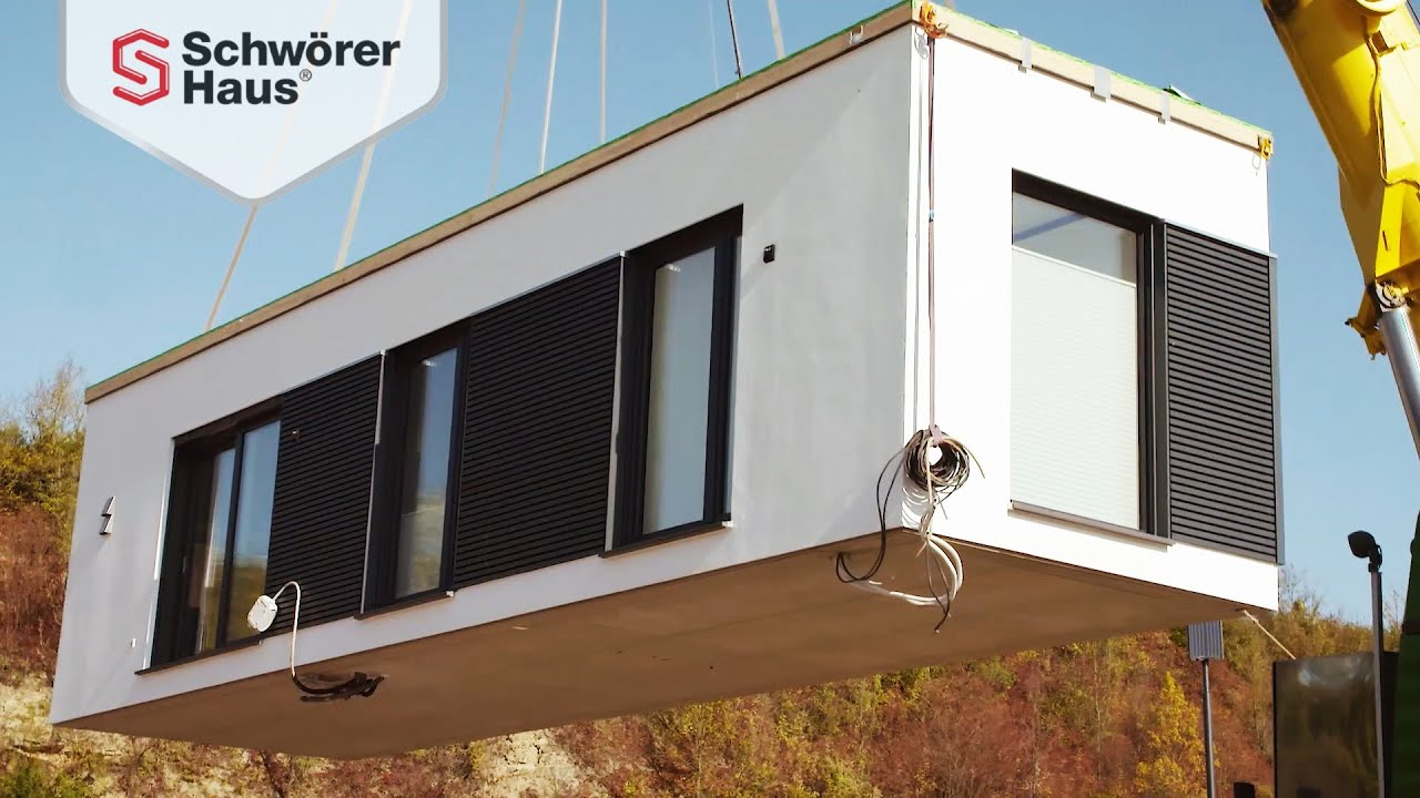 Tiny House In Der Luft Transport Von Minihäusern Youtube